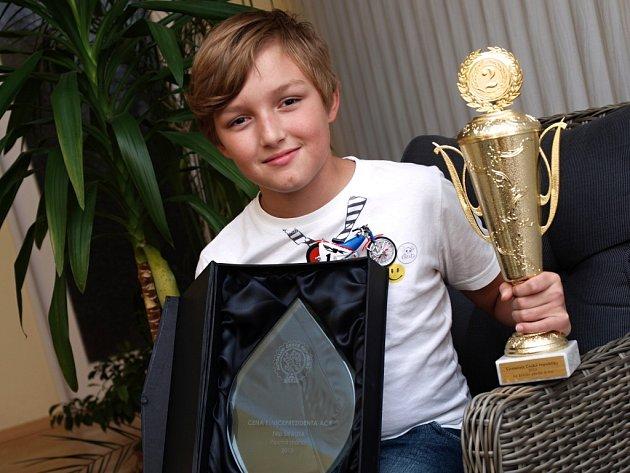 Filip Šifalda je velký talent chabařovické ploché dráhy.