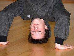 Michal Richter ukazuje na soutěžích fantastický pohyb.