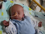 Kristián Chmelík se narodil v ústecké porodnici 2. 3. 2017 (1.34) Ivetě Kašové. Vážil 2,25 kg.