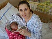 Eliška Dašková se narodila v ústecké porodnici 17.4.2017 (3.42) Monice Daškové. Měřila 50 cm, vážila 4,1 kg.