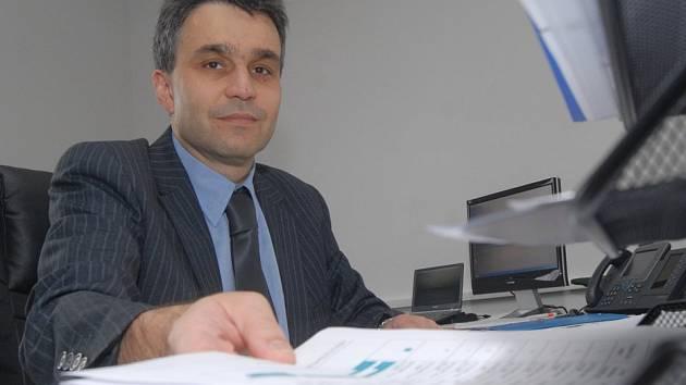 Ředitel Krajské zdravotní Eduard Reichelt