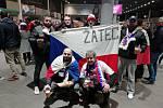 Žatecký fanklub České fotbalové reprezentace z londýnského Wembley.