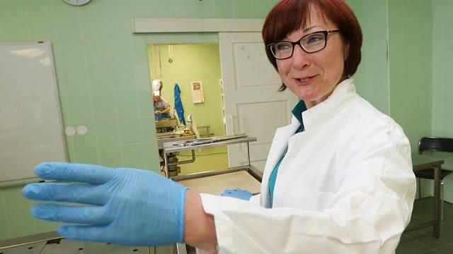 Oddělení soudní patologie a toxikologie, které vede primářka Andrea Vlčková.
