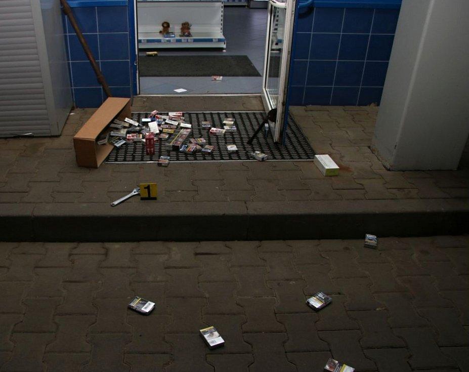 Dokumentace k případu 30letého recidivisty z Teplicka, který během nouzového stavu stihl skoro 20 vloupaček nejen v Ústeckém kraji.