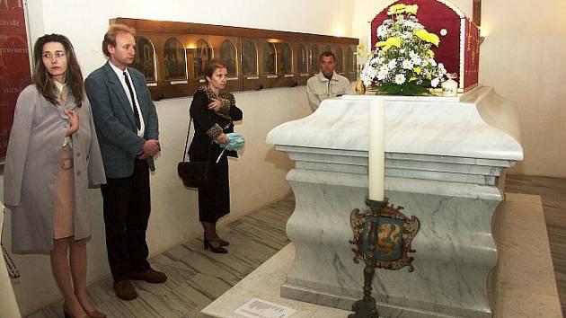 PODZEMÍ baziliky v Jablonném v Podještědí ukrývá ostatky svaté Zdislavy.