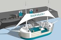 Přístaviště pro velké osobní lodě.