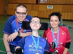 Jozef Suchý mladší se svými rodiči.