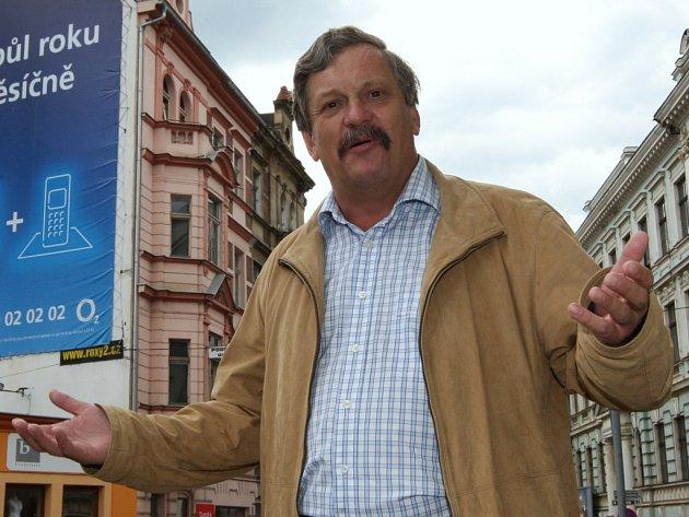 Bývalý zastupitel Jaroslav Kubín.