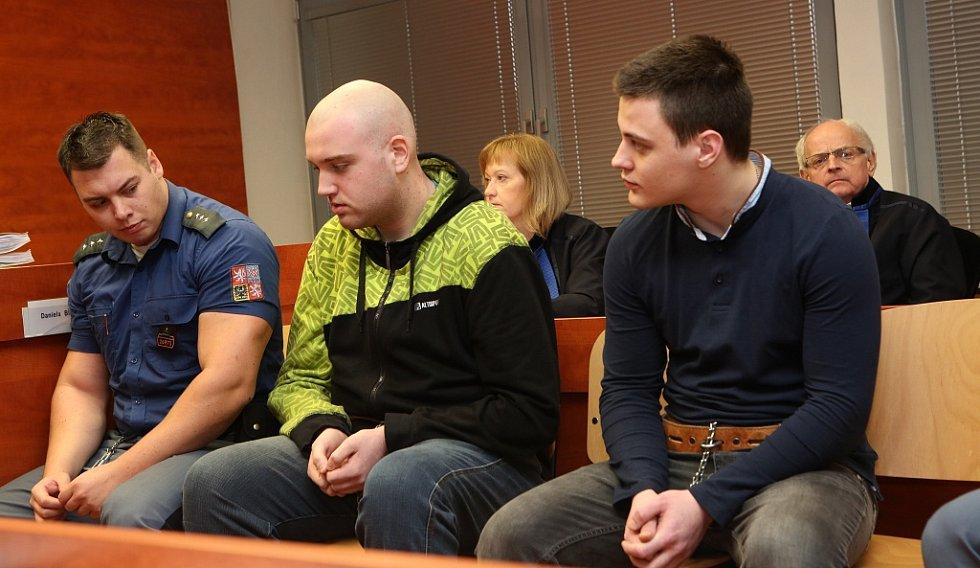 Mladí muži, kteří měli obzvláště surovým způsobem zabít 19letého mladíka z Velichova na Žatecku, u ústeckého soudu