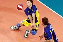 Ústečtí volejbalisté bojovali s Libercem ze všech sil, do Final Four Českého poháru přesto postoupil jejich soupeř.