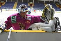 Brankář Ústeckých Lvů Zdeněk Orct má za sebou spoustu sezon v extralize i první hokejové lize.