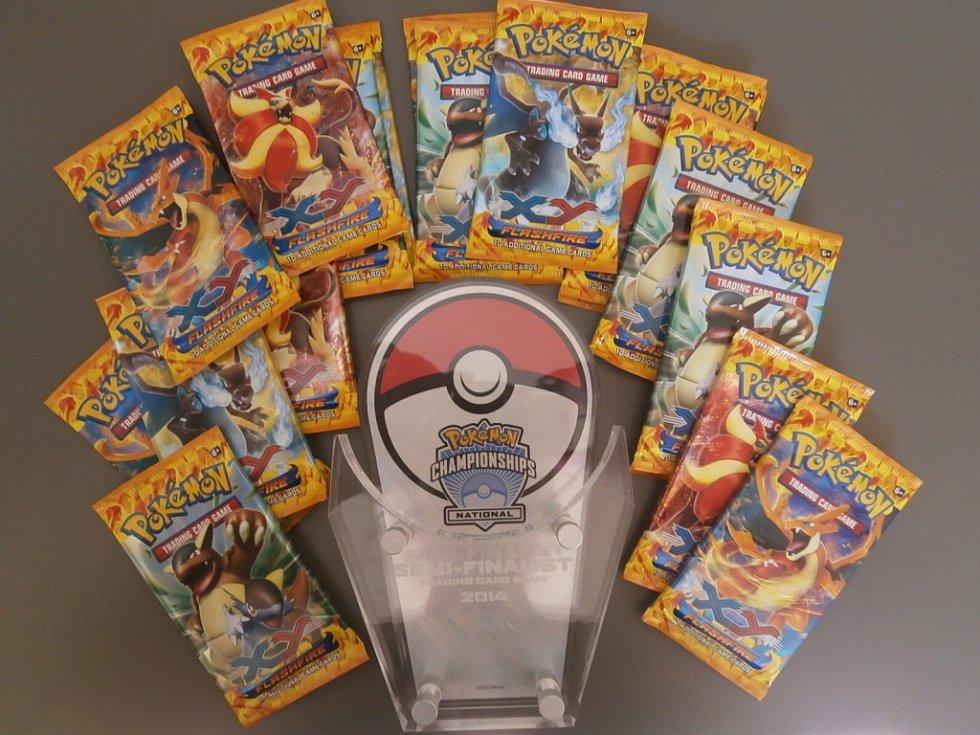 Karty Pokémonů vynesly bronz Kamile z Ústí.