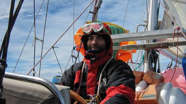 Mart Eslem v Antarktidě.