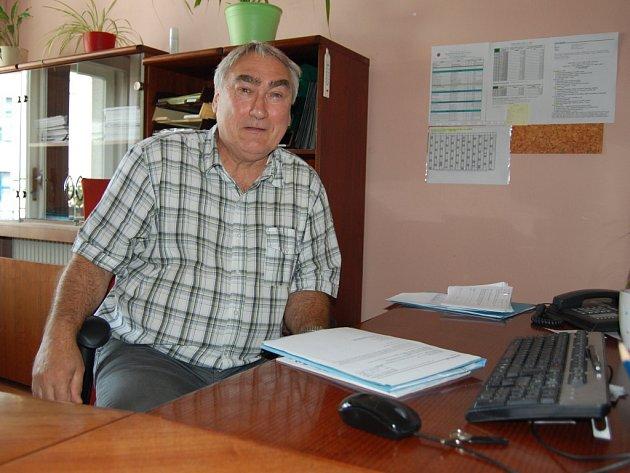 Zastupitel Střekova Viktor Malinkovič (KSČM).