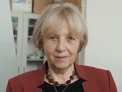Profesorka Pavla Čapková.