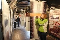 Projekt Vagón je ojedinělá výstava Muzea SNP v dobových železničních vagónech o tragických osudech lidí v období holocaustu
