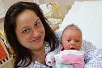 Nicol Řeháková se narodila v ústecké porodnici 8.2.2017(11.16) Lucii Řehákové. Měřila 48 cm, vážila 3,23 kg.