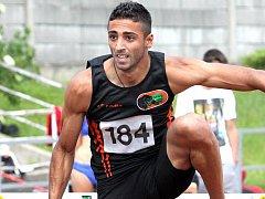 Ústecký překážkář Ahmad Hazer se probojoval na olympiádu.
