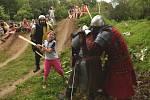 Na Střížáku se utkali rytíři.