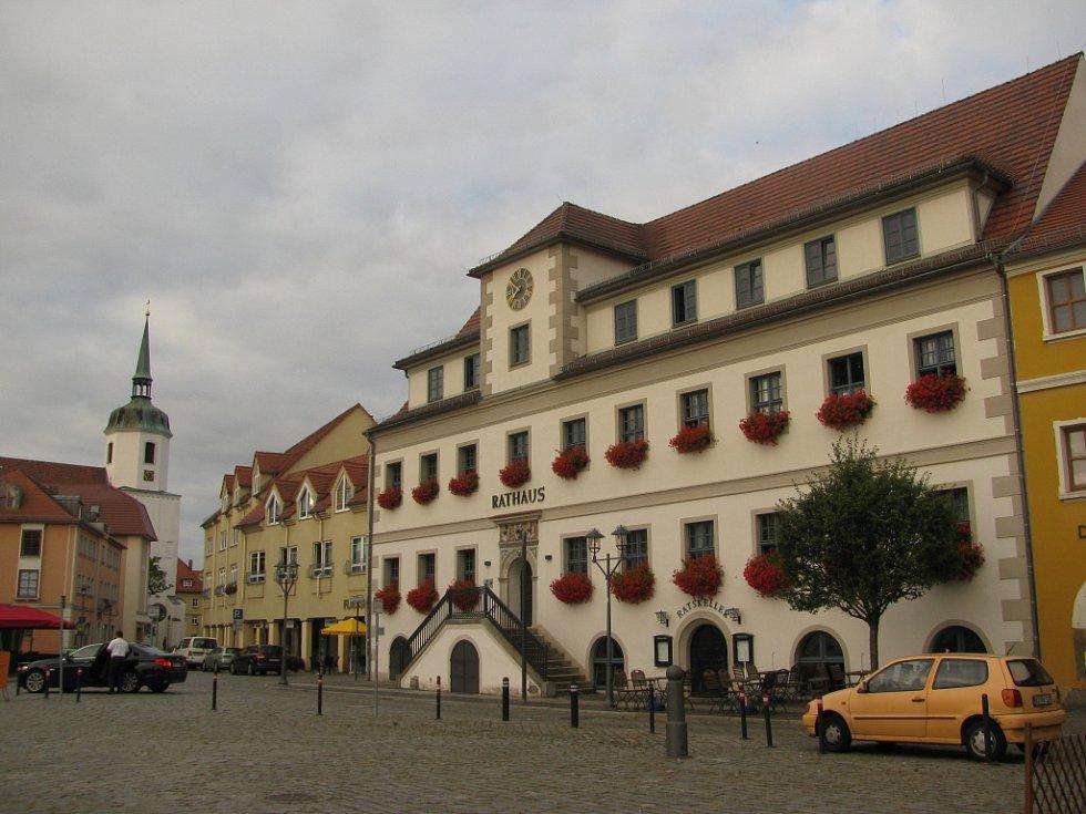 Náměstí ve staré části města.