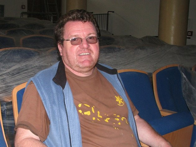 Jan Eichler, ředitel DDM.