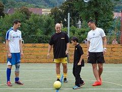 Fotbalový turnaj pomohl devítiletému Péťovi.