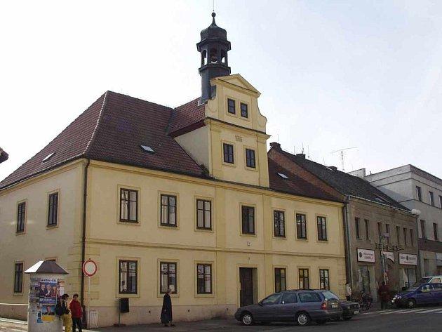 Stará radnice v Chabařovicích
