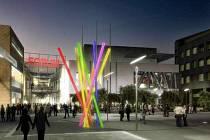 Návrh obchodního centra Forum
