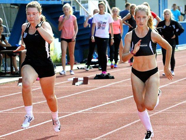 Atletický mítink v Bílině.