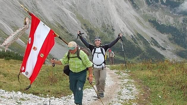 Pochod Karwendel.
