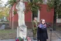 Střekov připomněl 100 let republiky a vzdal hold Masarykovi