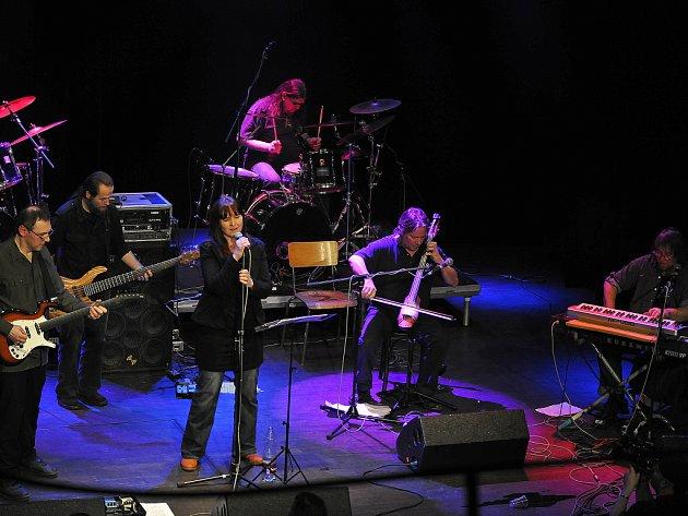 Koncert na akci Lábusovky 2012 u Loun.