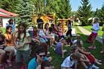Nejen zpěvem žijí členové Ústeckého dětského sboru, jak dokazují snímky z loňského letního soustředění.