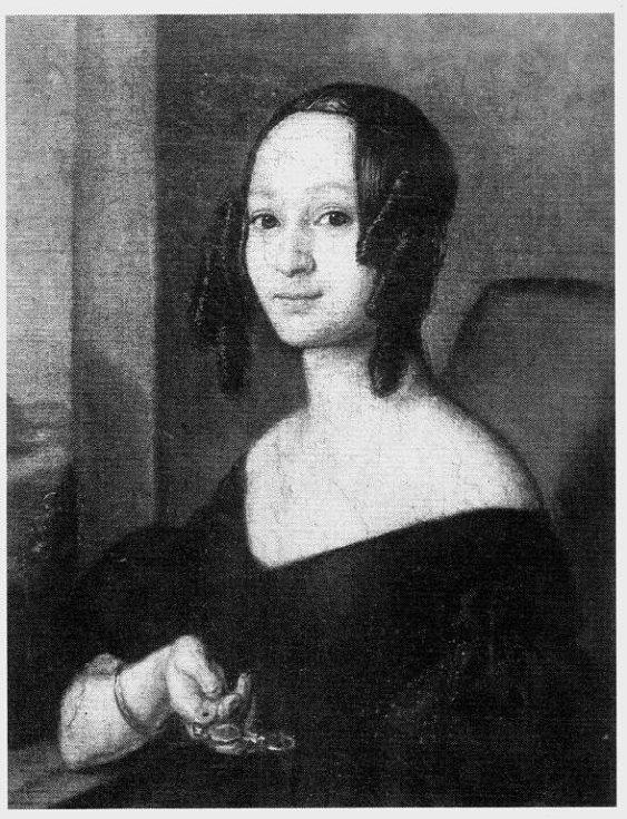 Portrét hraběnky Anny Zerdahelyové.