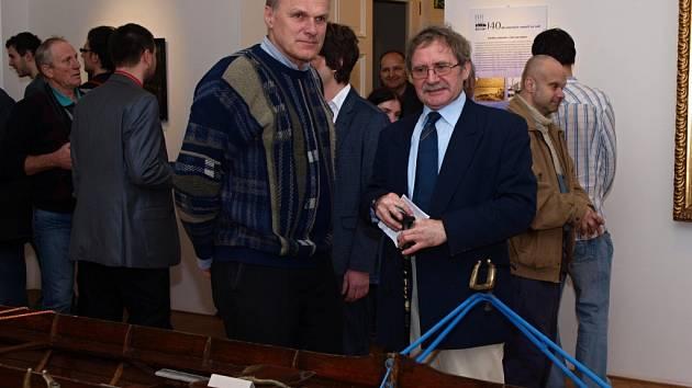 Výstava 140 Let ústeckých veslařů na Labi je přístupná do 30. března.