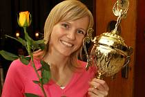 Na trůn pro Nejúspěšnějšího sportovce Ústecka za rok 2007 usedla drobná blondýnka Lucie Zbořilová.