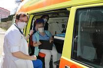 Mobilní očkovací tým.