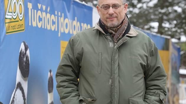 Ředitel ústecké zoo Luboš Moudrý.