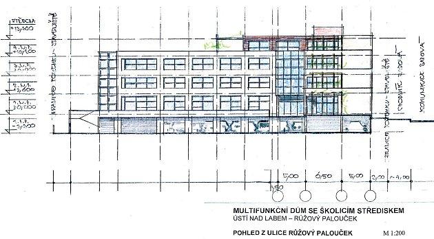 Plánované školící středisko.