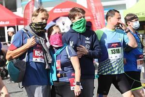 Ústecký půlmaraton 2020, příprava před závodem.