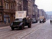 Srpen 1968 v Ústí nad Labem.