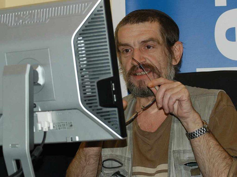 On-line s Jaroslavem Achabem Haidlerem