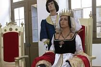 Na zámku Moritzburg se můžete setkat s princem.