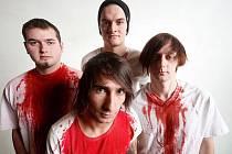 Čtyřčlenná punk-rocková kapela Faces are Fiction.