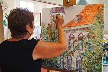 Posluchači Univerzity 3. věku UJEP mají v Galerii moderního umění v Roudnici expozici Na zámku.