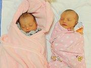 Sabina a Sofie Husákovy se narodily v ústecké porodnici 14.11.2016 (8.22 a 8.23) Lence Husákové. Sabina měřila 47 cm, vážila 2,63 kg. Sofie měřila 47 cm, vážila 2,69 kg.