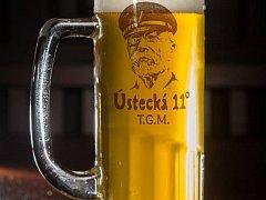 Výroční 11stupňový speciál T.G.M. uvařili v pivovaru Na Rychtě.