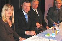 Zuzana Kailová, Arno Fišera, Václav Křeček a Josef Macík.
