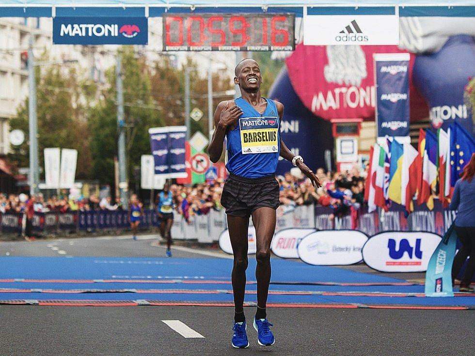 Fenomenální Barselius Kipyego zaběhl v Ústí letošní druhý nejrychlejší půlmaraton na světě.