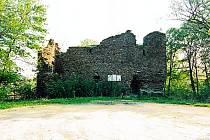 Nevelký vodní hrad Kempe.
